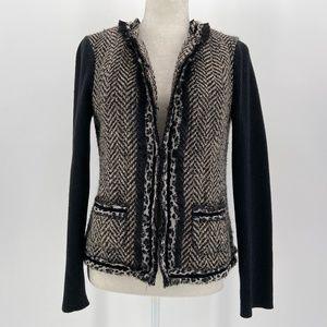 Chico's  Animal Print Knit Cardigan Jacket 4